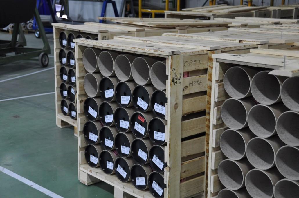 Houten verpakkingsmateriaal raambekleding